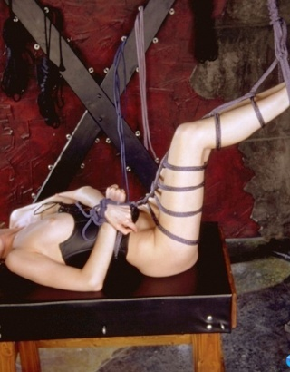 Tied In Sex Dungeon
