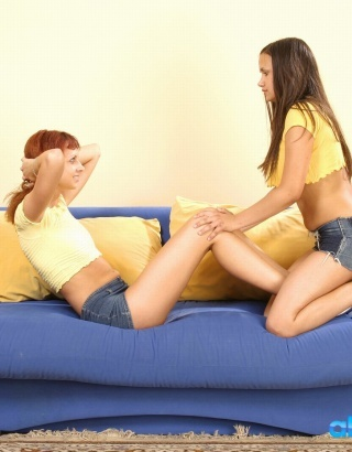 Lesbo Couch  2
